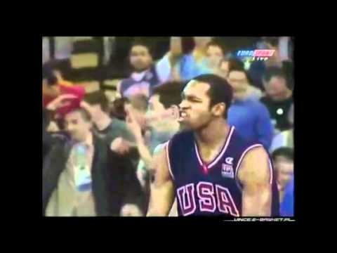 Vince Carter Best Dunk Ever!! 2000 Olympics - YouTube