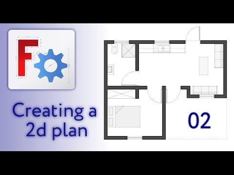FreeCAD Arch - Creating 2D Plan - 02