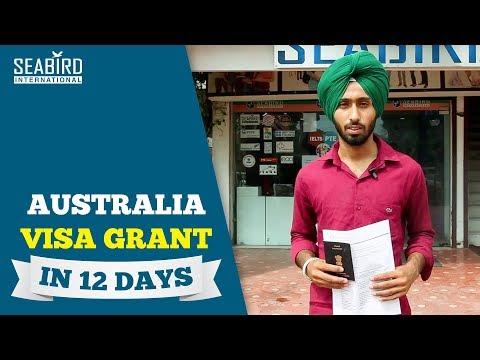 Maninder Singh Australia Study Visa   Visa Grant in 12 Days