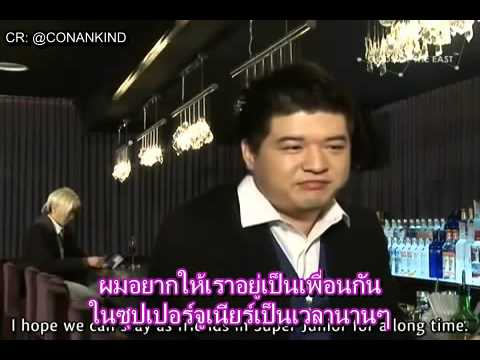 [ซับไทย] Super Junior Relay Talk #3 - Shindong to Sungmin