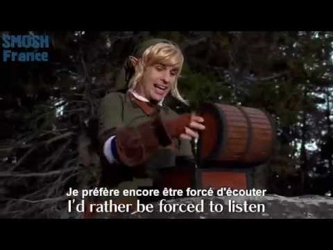 THE LEGEND OF ZELDA RAP [MUSIC VIDEO] VOSTFR