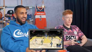Football Daily's Joe Thomlinson picks an NBA team to support! | Who's Got Game?