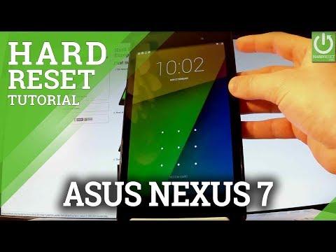 How to Hard Reset ASUS Nexus 7 - Skip Password / Recovery Mode