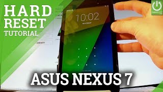 How to Hard Reset ASUS Nexus 7 - Skip Password / Recovery Mode