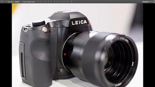 Leica SE and S 007 medium format cameras