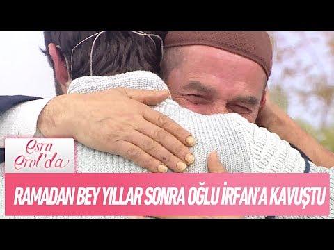 Ramadan Bey yıllar sonra oğlu İrfan'la stüdyoda kavuştu - Esra Erol'da 20 Kasım 2017