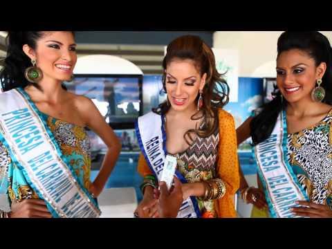 Virginia Hernández Miss Mundo habla de Cinta Viva e Invita a Carnavales