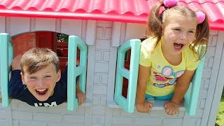 Ali vs bothersome little sister! Funny Kids videos