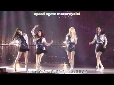 Girls Generation Motorcycle Tokyo Dome Sub Español