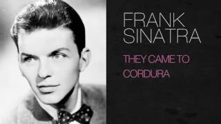 Watch Frank Sinatra They Came To Cordura video