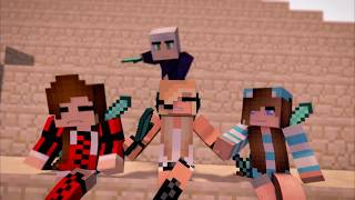 Psycho Girl 1-14 Minecraft Song Compilation! Minecraft Songs and Minecraft Animation Movie 2017