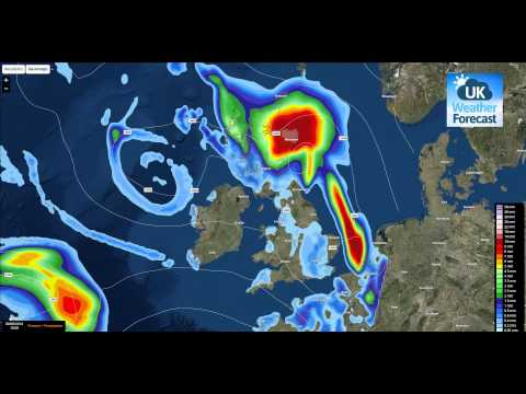 More unsettled weather - Low pressure dominated & Tropical storm Bertha LATEST - UK