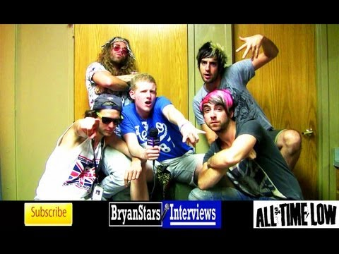 All Time Low Interview #4 Alex Gaskarth & Jack Barakat ft. Mod Sun & Pat Brown Warped Tour 2012