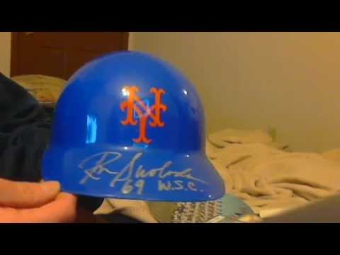 new york mets jets & knicks autographs