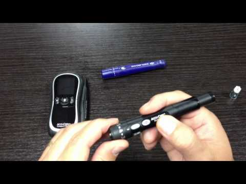 Diabetes Video Blog- Mysugartv.com #34. New Lancet Device By Accu-Chek