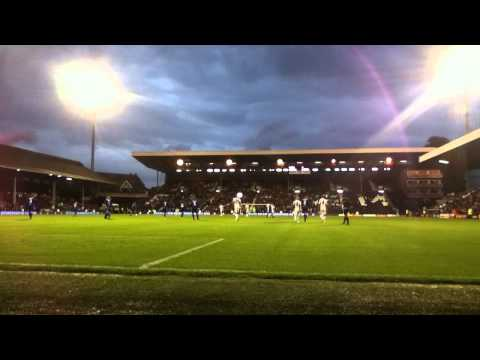 Steve Sidwell goal for Fulham against Crusaders