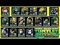 ВСЕ ГЕРОИ игры Черепашки ниндзя Легенды 220 Начало Турнира бой всех героев TMNT Legends mp3