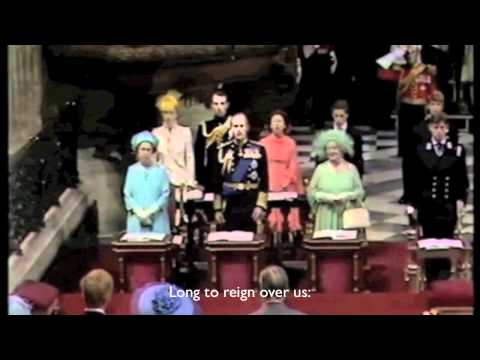 God Save The Queen - National Anthem of the United Kingdom