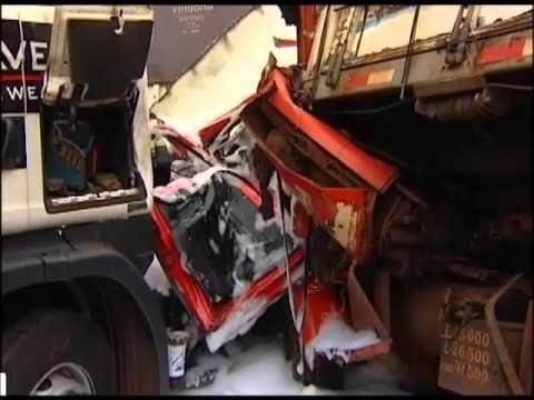 Morre motorista do caminhão que se envolveu em acidente em frente ao posto G10