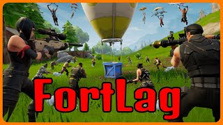 FortLag | Nutty Snipes | Tilted Towers Massacre | Brownyys Lag Experience