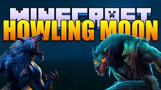 Minecraft HOWLING MOON Mod - Become a Werewolf! (Minecraft v1.8 Mod Spotlight)