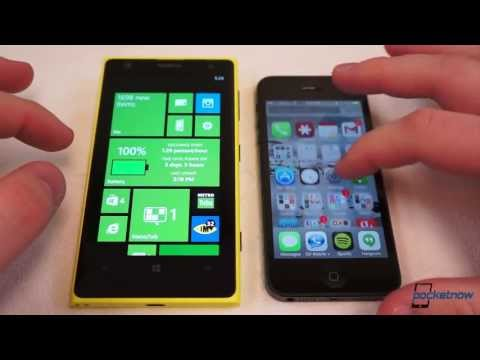 iOS 7 vs Windows Phone 8
