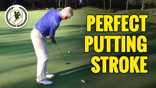 GOLF PUTTING TIPS - THE PERFECT GOLF PUTTING STROKE TECHNIQUE