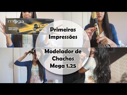 Primeiras Impressões | Modelador de Cachos Mega 1.25 - Por Jéssica Freitas