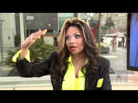 Latoya Jackson: Chris Brown Could Play Michael Jackson, If He Loses Weight! - Hiphollywood video