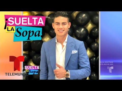 James Rodríguez llega a acuerdo con Agencia Tributaria Española | Suelta La Sopa | Entretenimiento