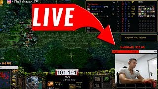 DOTA LIVE - TheBaltazarTV vs. SUBSCRIBERS | LIVE DOTA (ICCUP)