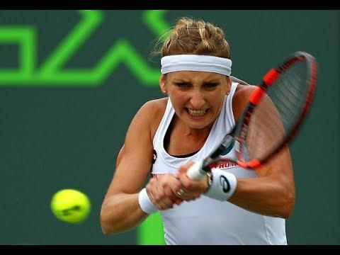 2016 Miami Open Quarterfinals | Timea Bacsinszky vs Simona Halep | WTA Highlights
