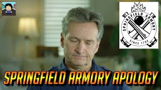 Springfield Armory betrayal?  Apology video released