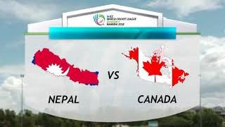 NEPAL VS CANADA Top highlight
