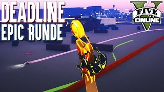 DEADLINE EPISCHE RUNDE ★ GTA 5 DEATHLINE (+Download) ★ GTA Online LPmitKev