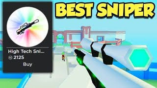 Buying The BEST Sniper In BIG Paintball! (Roblox)