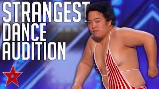 Is This The STRANGEST Dance Audition Ever On America's Got Talent 2019? | Got Talent Global