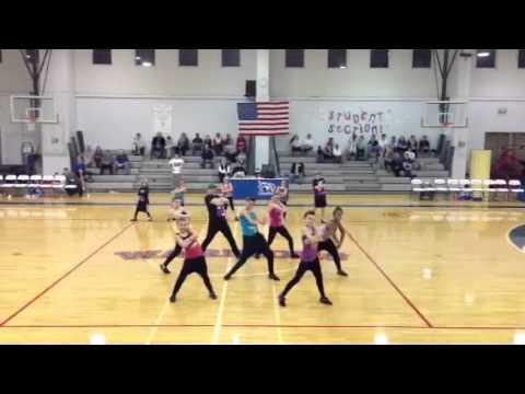 Oak Mountain Academy Boys Halftime Performance - 01/20/2013