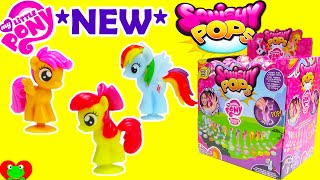 My Little Pony Squishy Pops with Cutie Mark Crusaders