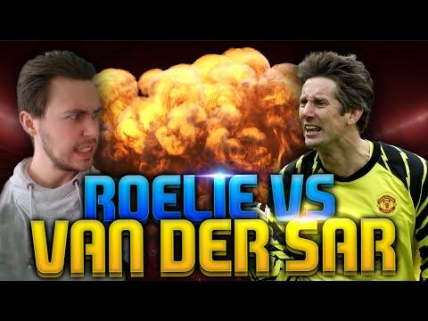ROELIE vs VAN DER SAR?!! FIFA 15 Punten Challenge