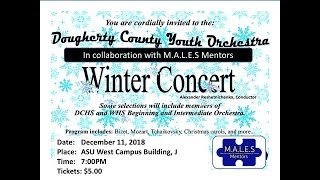 Dougherty Youth Orchestra Winter Concert 2018