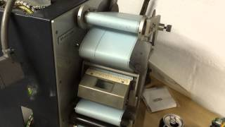 Monotype 31 Channel Punch at work