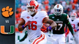 Clemson vs. Miami Football Highlights (2015)