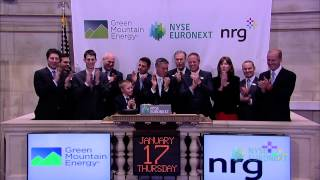 NYSE Closing Bell Celebrates NYSE Euronext's Choice of Renewable Energy