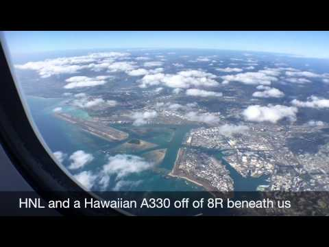 HA51 Hawaiian Airlines JFK-HNL A330-200