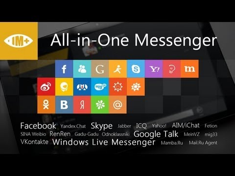 IM+ Pro Windows 8 Metro Messaging App Review