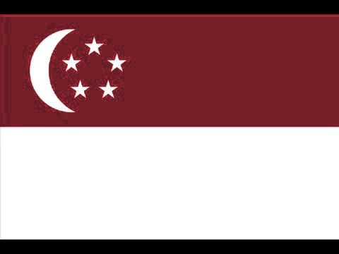 National Anthem of Republic of Singapore 新加坡共和国国歌