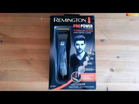Remington HC5800 Unboxing