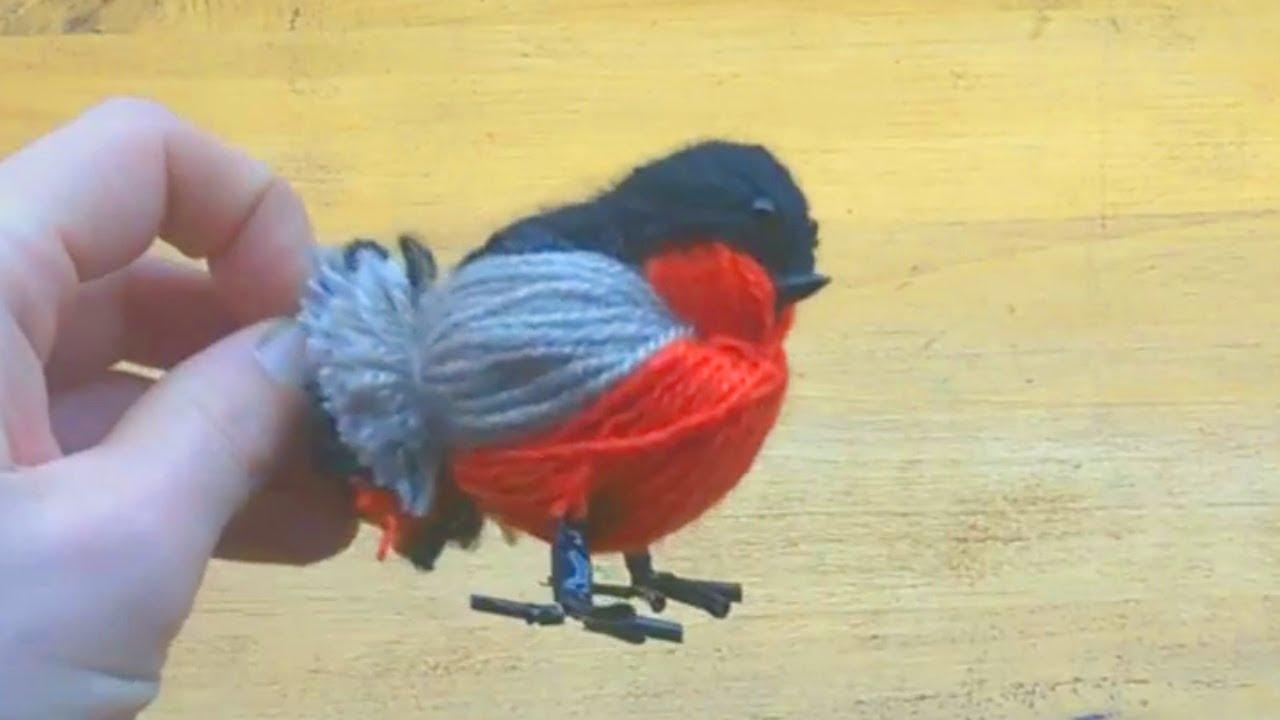 Птиц своими руками пошагово