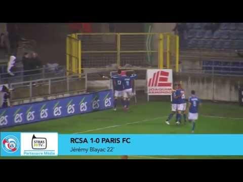 Résumé de la victoire du RC Strasbourg Alsace face au Paris FC (2-1), lors de la 19e journée de National. En savoir plus : www.rcstrasbourgalsace.fr.
